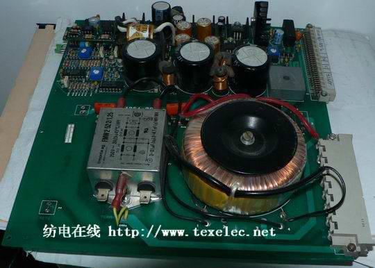 纺电在线 自动络筒机电路板维修专家